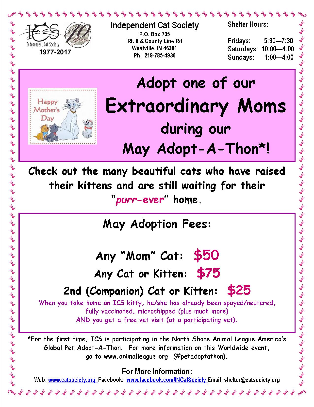 May Adoption Event